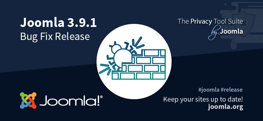 Joomla! 3.9.1 bug fix release